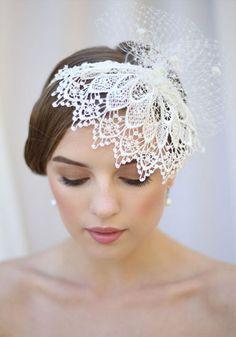 Collected Kisses Hairpiece Green Wedding Shoes Hochzeit Accessoires Hochzeit Braut