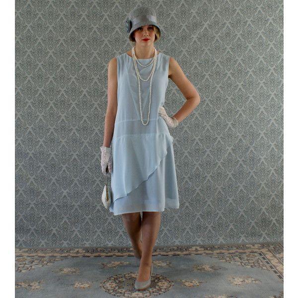roaring 20's 1920s day dress