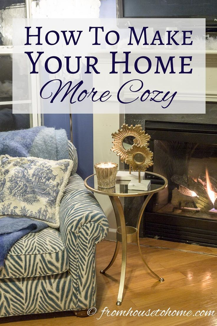 DIY Home Decor Inspiration : Illustration Description How To Make Your Home  More Cozy | Looking For Some Ways To Make Your Home More Cozy? Clu2026 |  Pinteresu2026