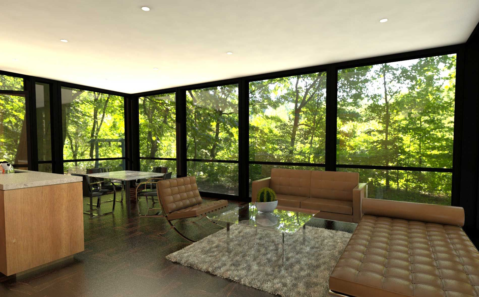 Revolution PreCrafted Properties Glass house, Philip