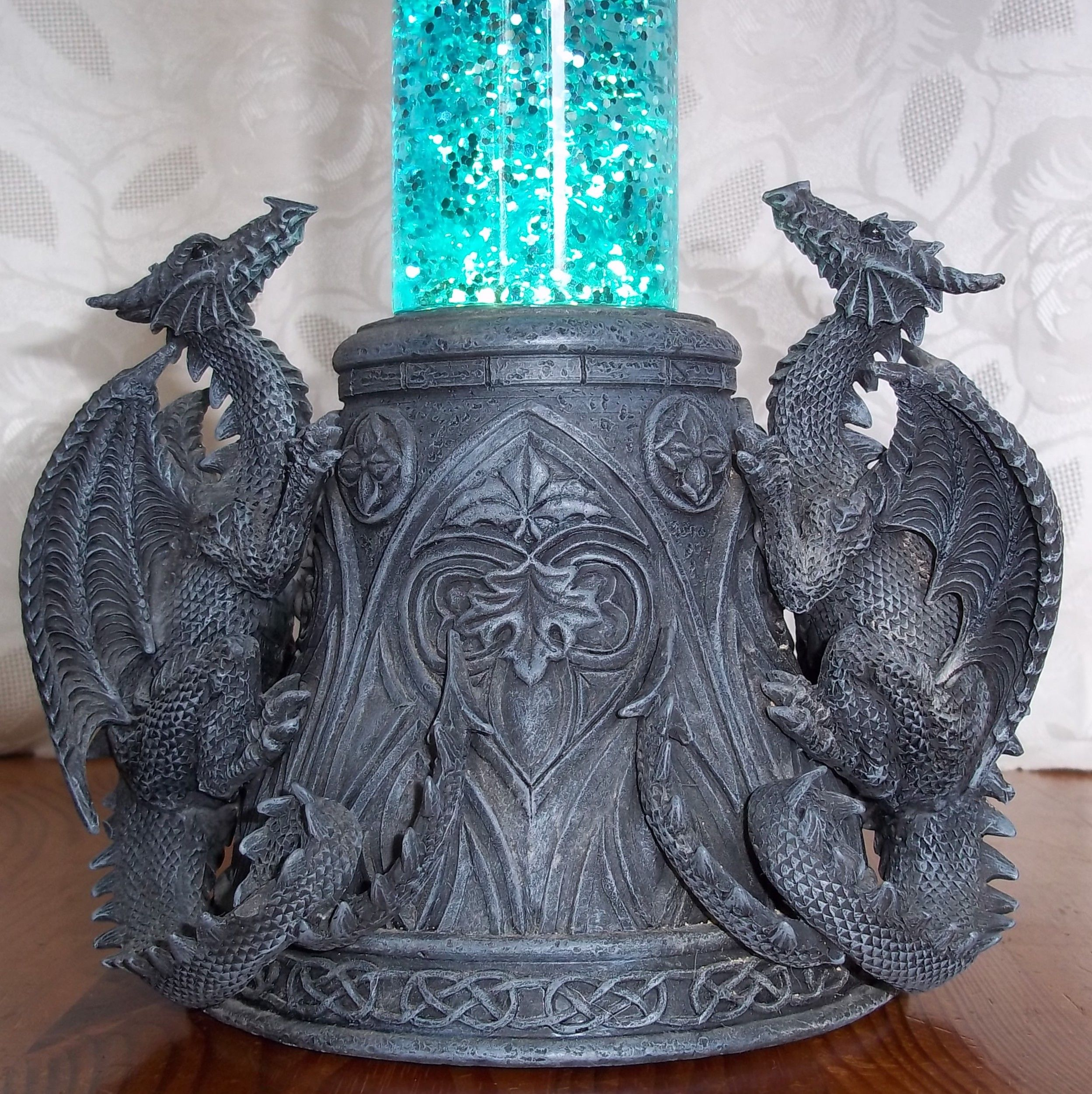 Dragon Lamps | Gothic Dragon Lava Lamp 2