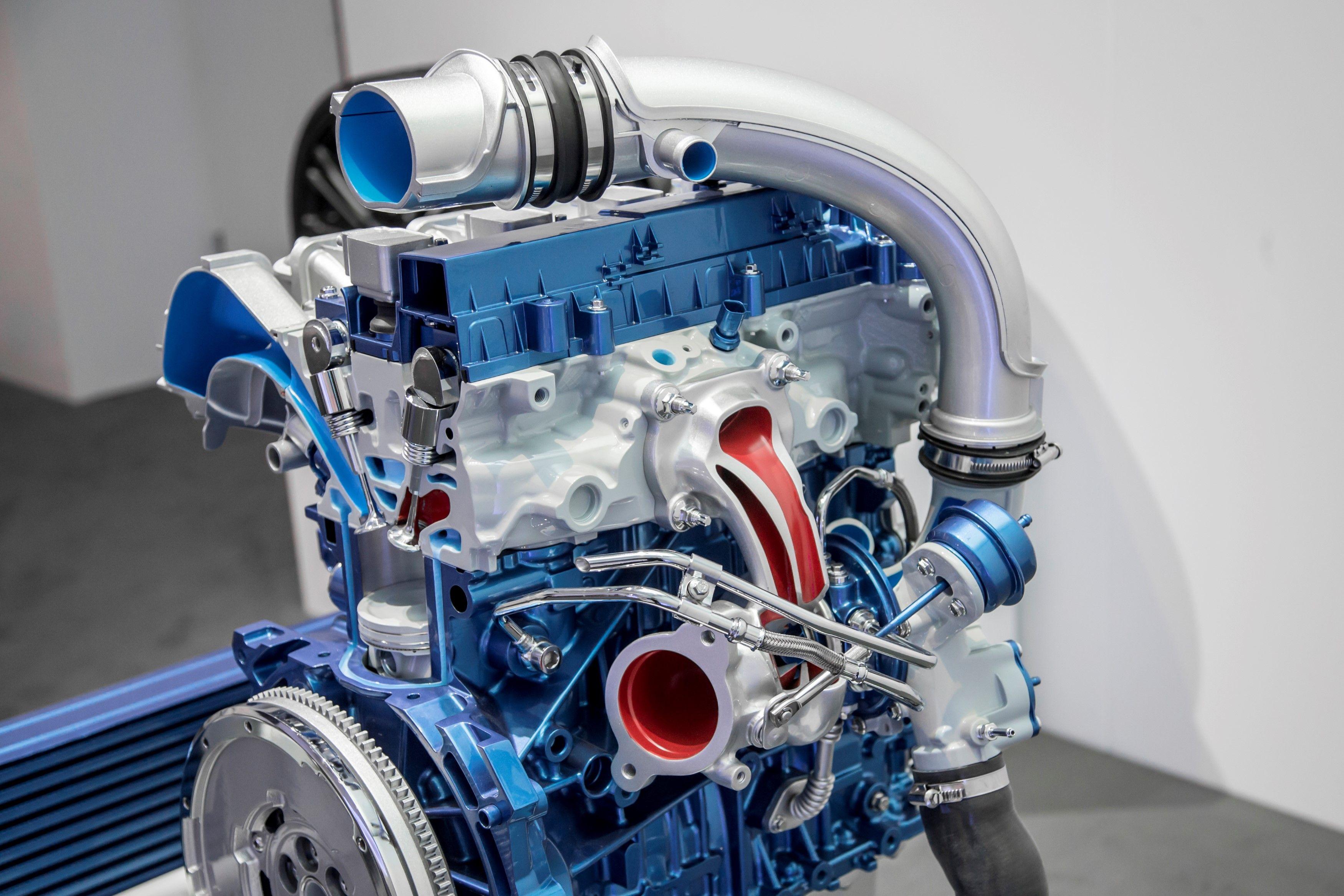 2.3l DOHC D.I. turbocharged 4 cylinder EcoBoost for 2016 ...
