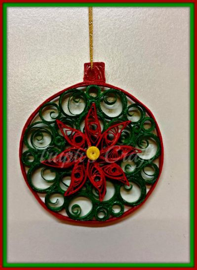 Paper Quilling Christmas Ornament - Paper Quilling Christmas Ornament Christmas Tre Pinterest