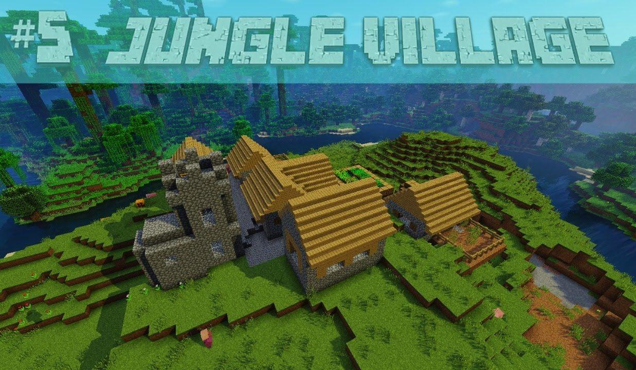 Cool Jungle Village, Jungle Temple Minecraft Seed 1111.1111, 1111.11.11