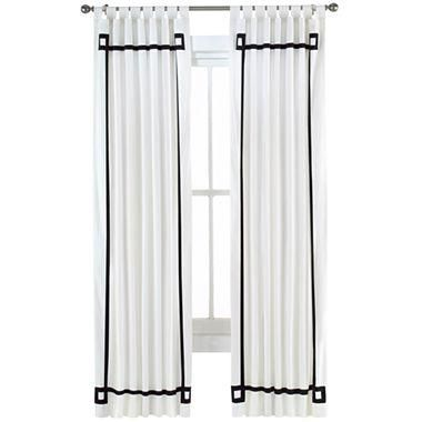 Alexa Canvas Curtain Panel I Jcpenney