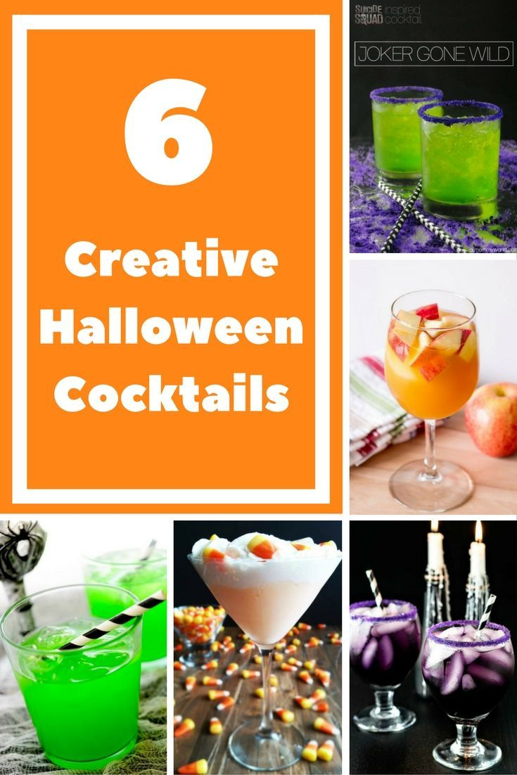 Ready for Halloween? Is a party in your plan for this holiday? We've got your covered with these fun and fancy cocktails that will dazzle your guests.