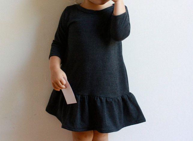 city dress / pdf sewing pattern / toddler 12m to girls 10/12 EASY SEWING