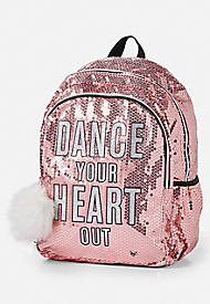 Sequin Dance Backpack Girl Backpacks