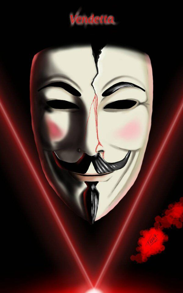 V For Vendetta By Frank0s V For Vendetta Vendetta Iphone Wallpaper For Guys