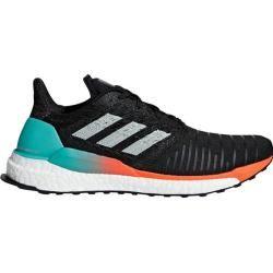 Adidas Herren Laufschuhe Solar Boost, Größe 43 ? in Schwarz/Minze/Orange, Größe 43 ? in Schwarz/Minz #scarpedaginnasticadauomo