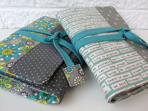 Tasche für Stifte/Rolle Art wraps close up by Very Berry Handmade, via Flickr
