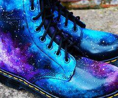 Pin by Rhiannon Branwen on fashion | Galaxy shoes, Galaxy