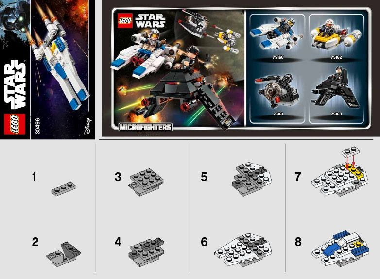 Star Wars U Wing Fighter Lego 30496 Lego Pinterest Lego