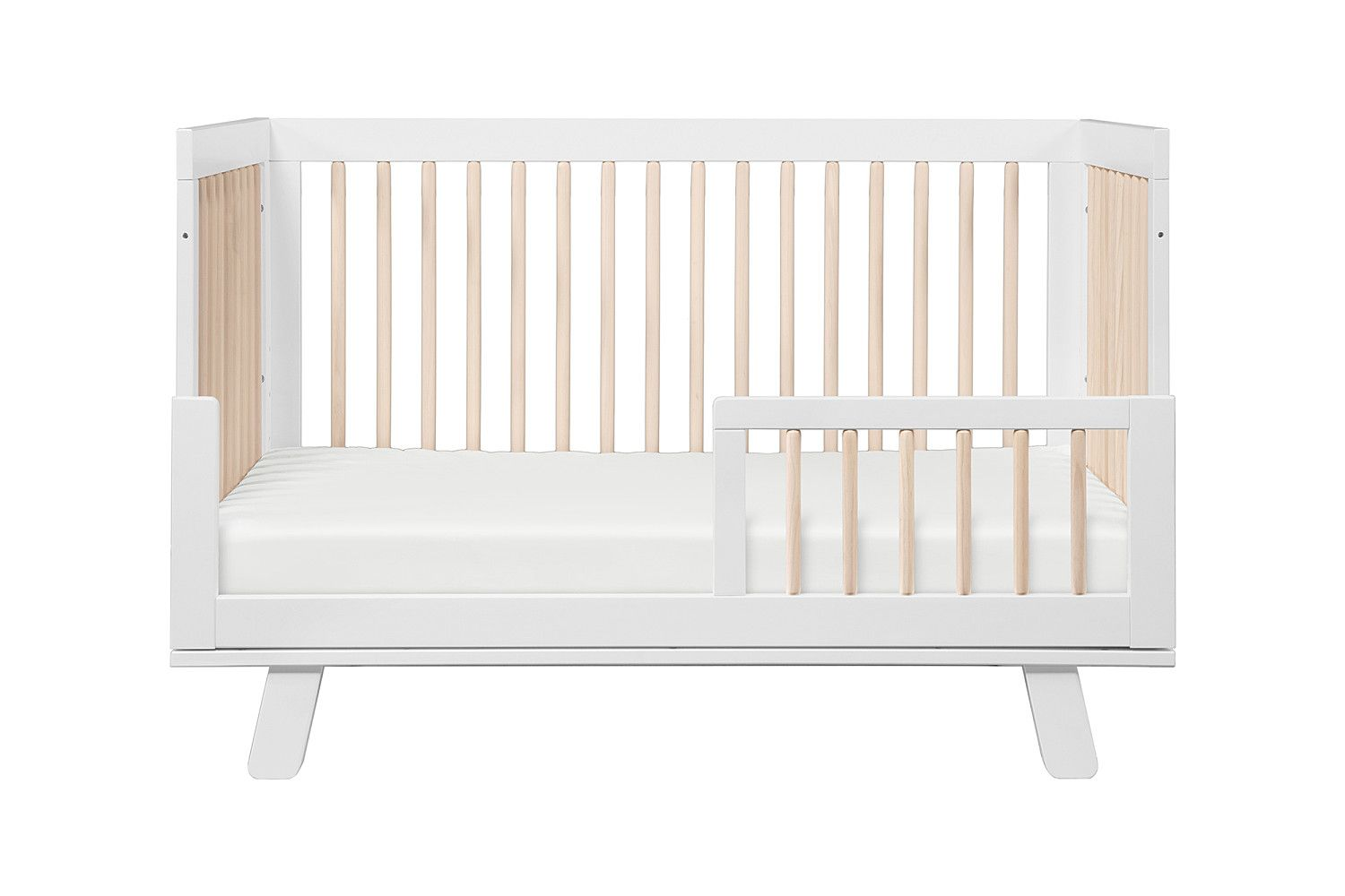 Hudson 3 In 1 Convertible Crib With Toddler Bed Conversion Kit Cribs Toddler Bed Convertible Crib