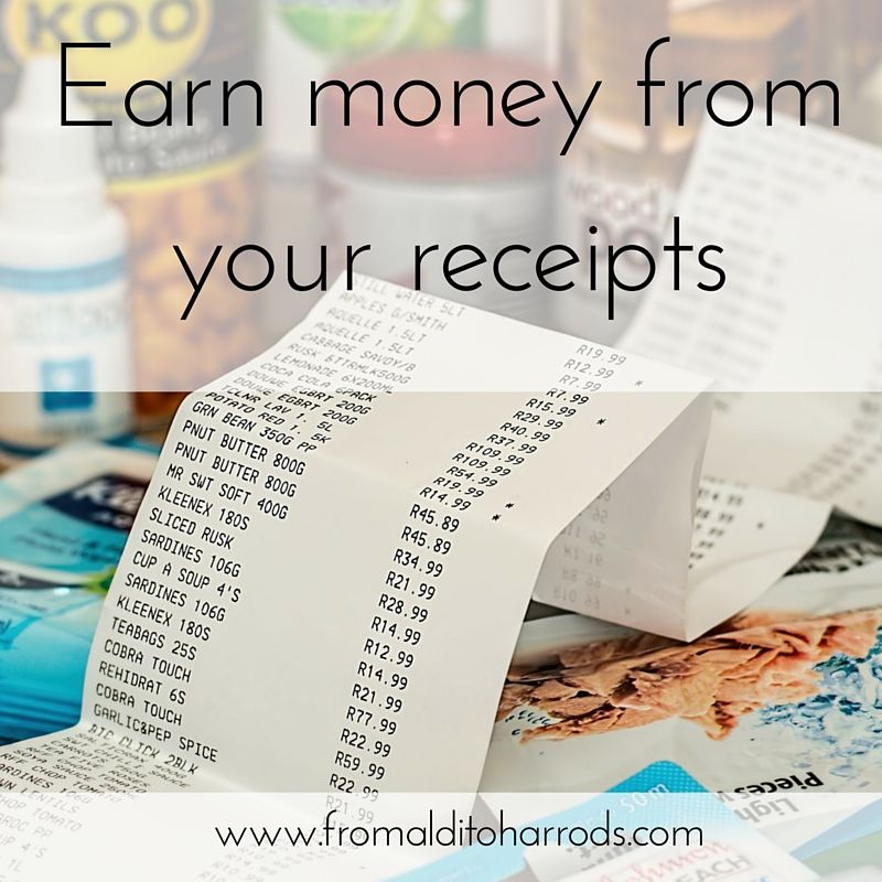 Earn money from your receipts Click through to read it or re-pin - money receipts
