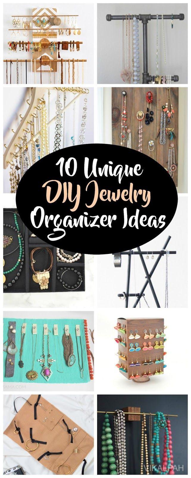 Photo of diy jewelry organizer ideas