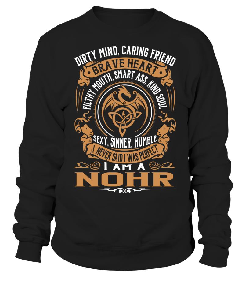 NOHR Brave Heart Last Name T-Shirt #Nohr