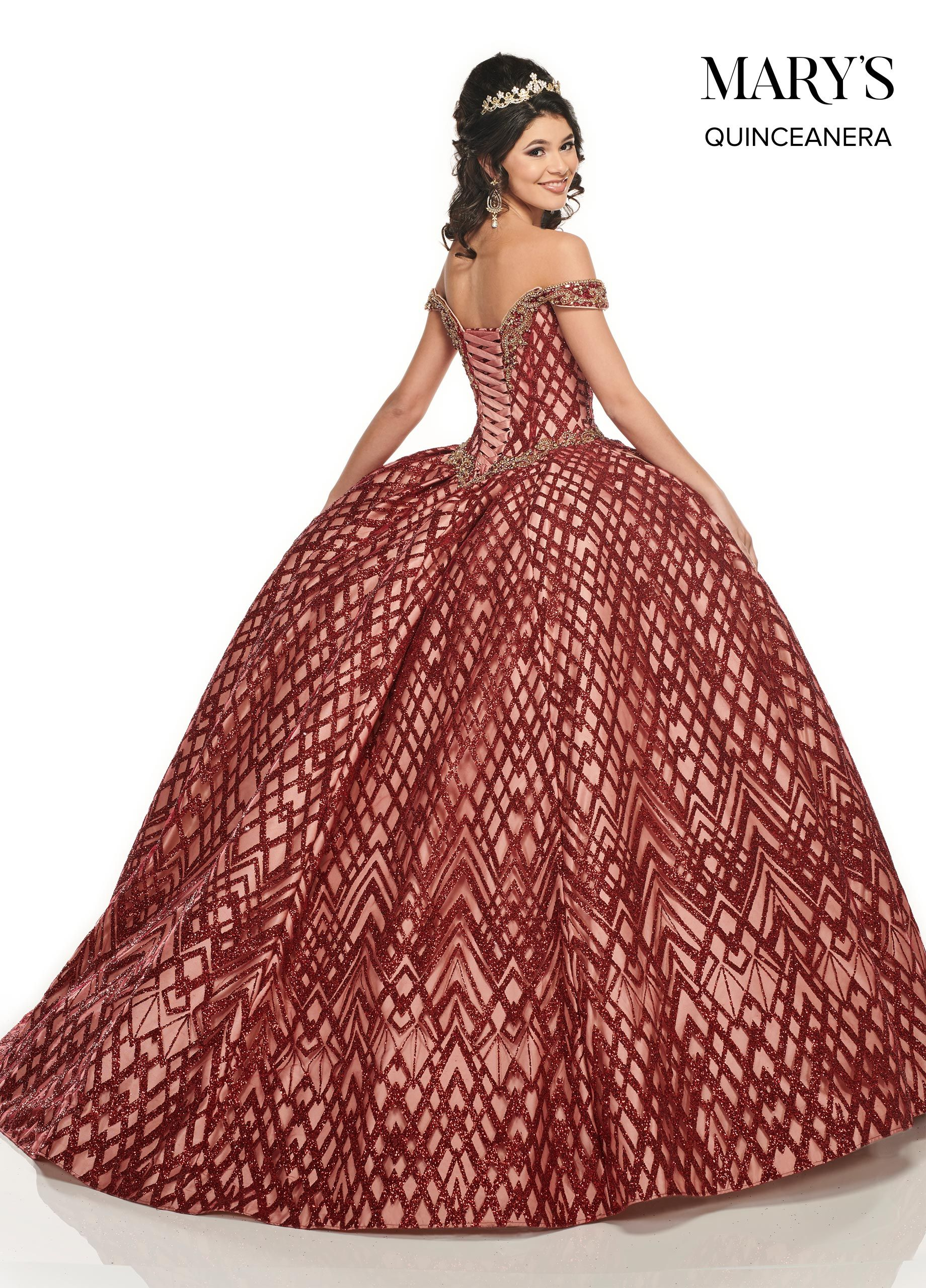 Off The Shoulder Glitter Quinceanera Dress By Mary S Bridal Mq2088 In 2021 Ball Gowns Quinceanera Dresses Perfect Prom Dress [ 2560 x 1840 Pixel ]