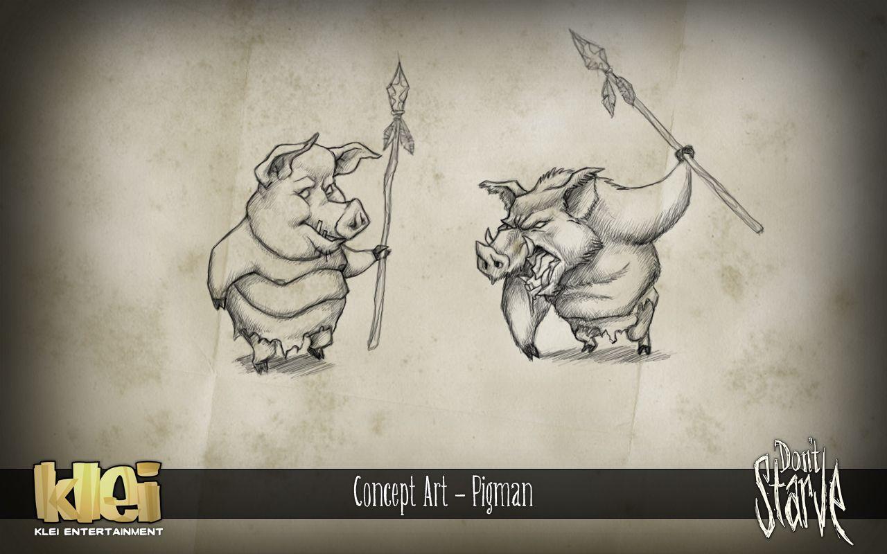 Dont Starve Original Concept Art