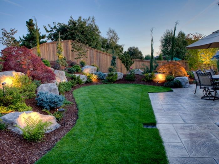 1001 ideas sobre dise o de jardines irresistibles y for Modelos de patios para casas