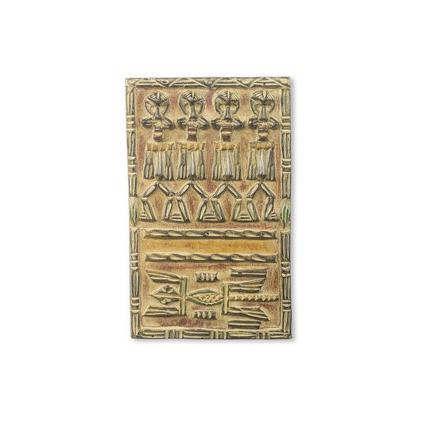 Relief Panel Carved Wood Wall Decor (H 144in, W ❤ liked on