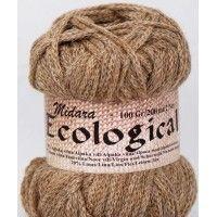 ECOLOGICAL- 60% alpakų vilna, 20% jauna vilna, 20% linas, 100 gr/ 200 m- Nr 883