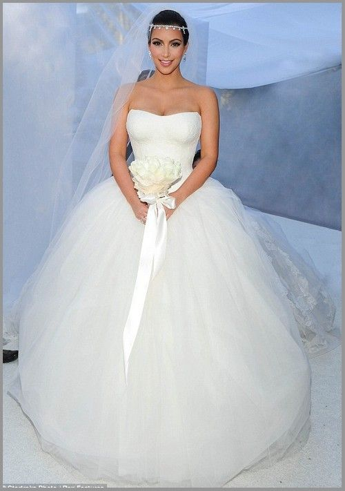 Kim Kardashian wedding gown | Fairytale Princess Wedding | Pinterest ...