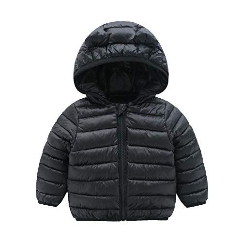 11989d493 CECORC Winter Coats for Kids with Hoods (Padded) Light Puffer Jacket ...