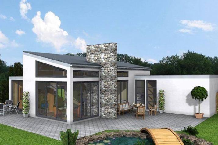 Bungalow 158 Haus bauen, Grundriss bungalow, Haus