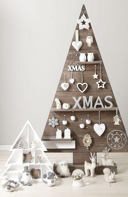Pin by Crystal Ward on Holiday Decor  Inspo Pinterest Xmas, DIY - wood christmas decorations