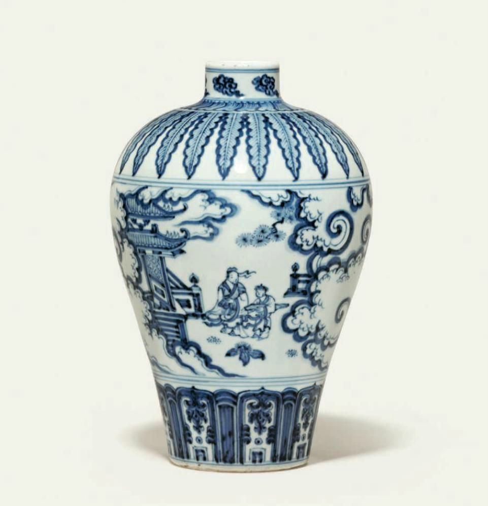 A very rare blue and white vase meiping ming dynasty 15th 16th a very rare blue and white vase meiping ming dynasty 15th 16th reviewsmspy