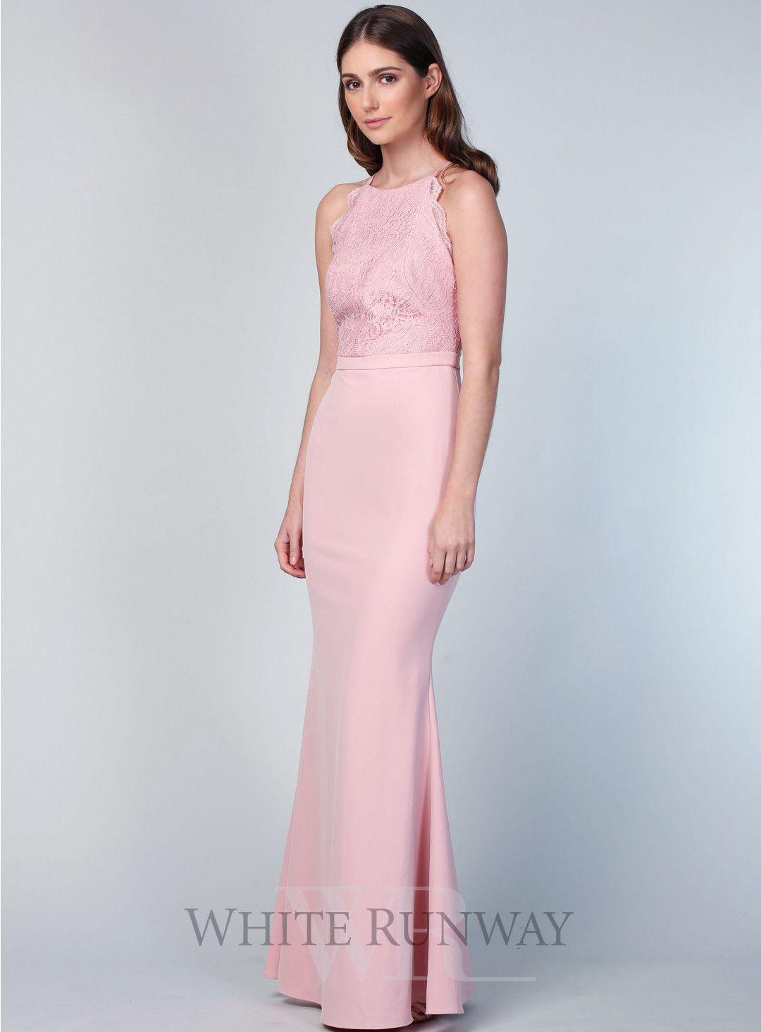 Juniper High Neck Gown. A beautiful full length dress by Samantha ...