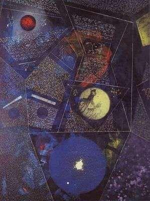 Le monde, par Max Ernst