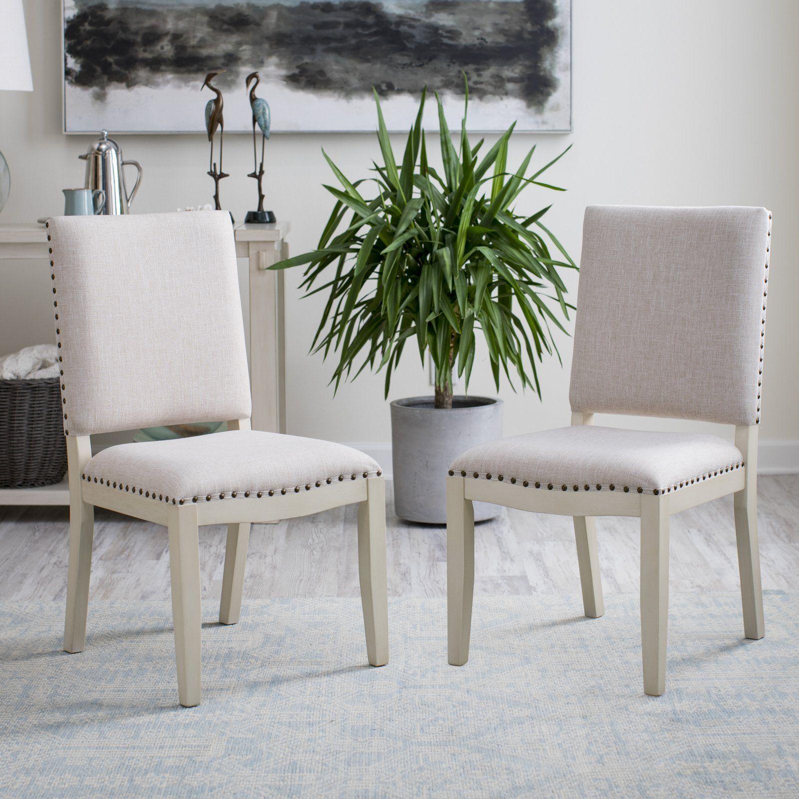 Belham Living Newport Antique White Dining Chair Set Of 2