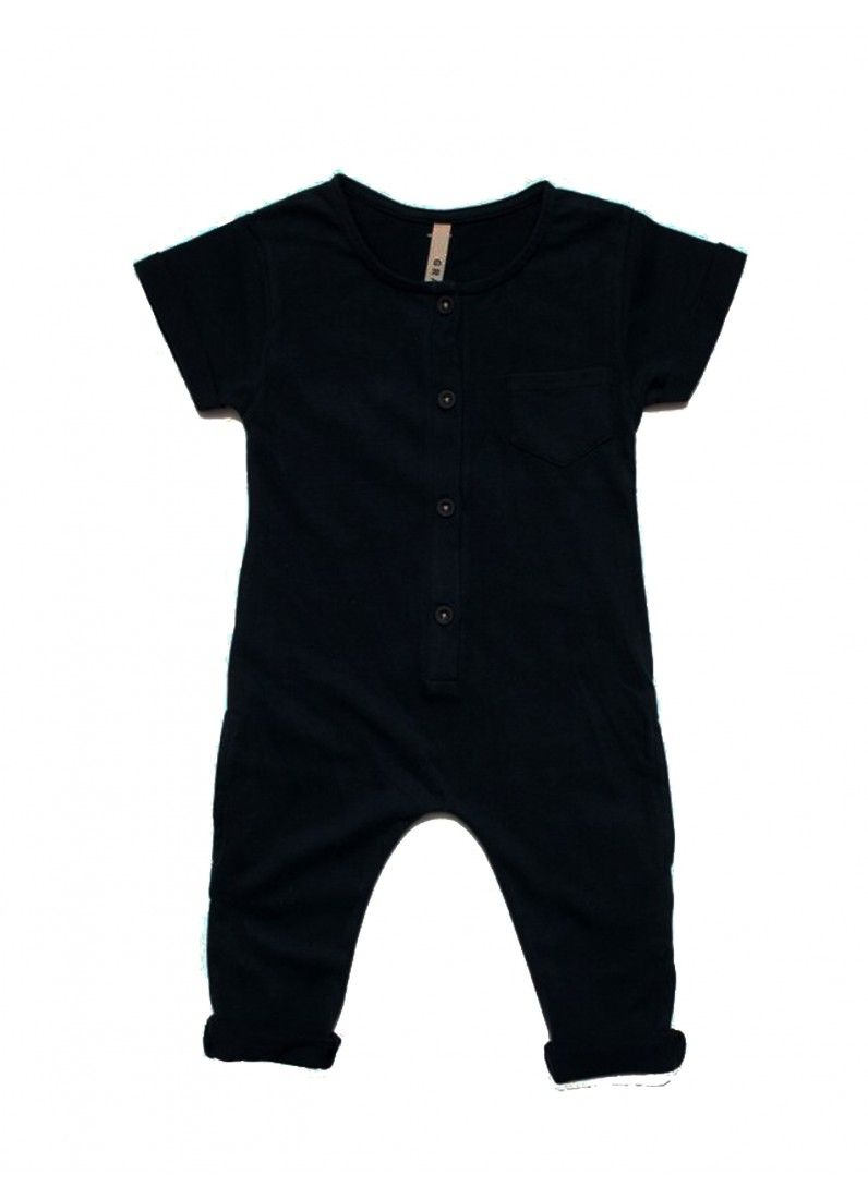 b659851d6 Organic Playsuit   Nearly Black - Gray Label - Designers   Fawn ...