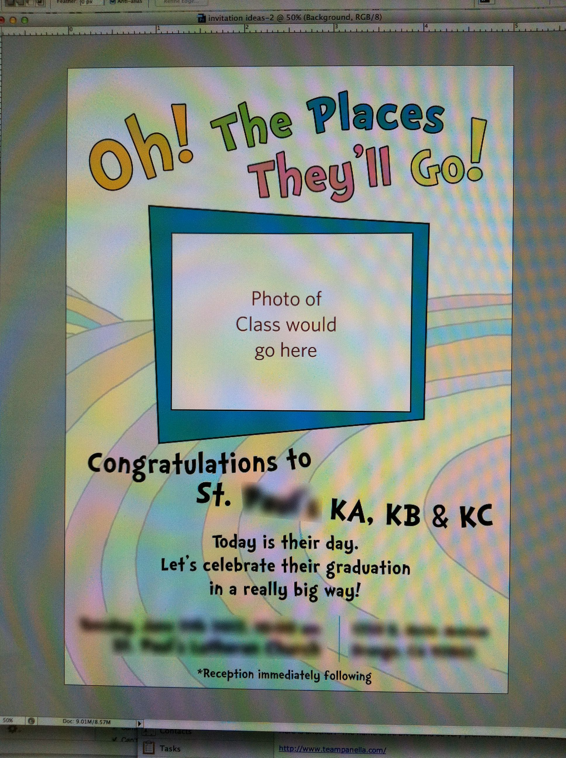 Oh the Places Youll Go - kindergartener graduation party