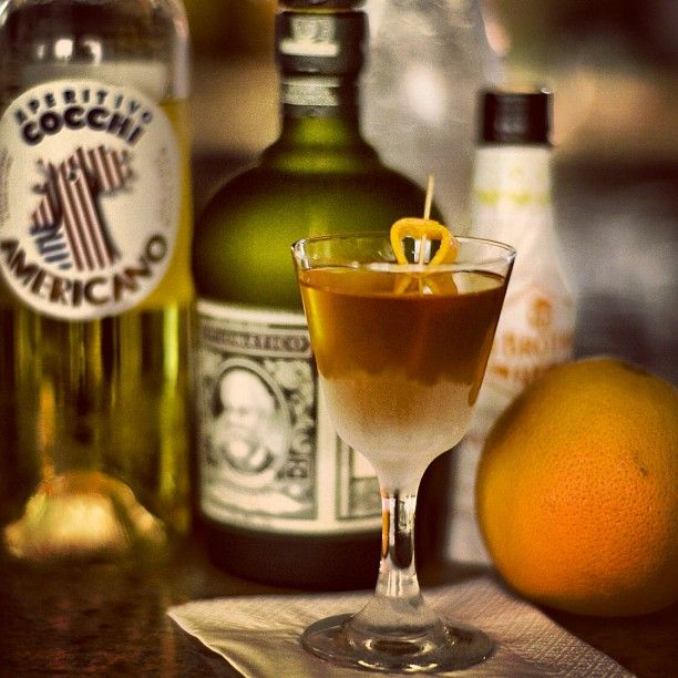 "Checkout ""The Clipper"" by Andreas Nilsson from Strøm Bar Copenhagen. Amazing mix of Reserva Exclusiva, grapefruit cordial, bitters and American Cocchi. More at www.Diplomaticorum.com"