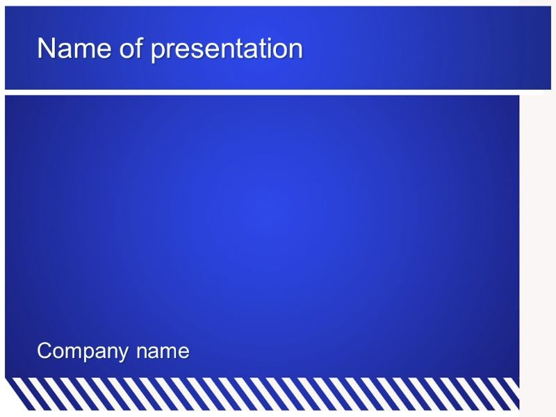 Free blue zebra powerpoint template presentation best templates free blue zebra powerpoint template presentation toneelgroepblik Image collections