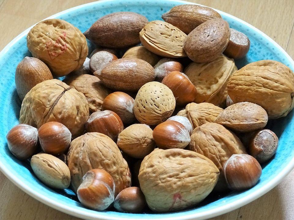 Free Photo Eat Nuts Nut Healthy Walnuts Bowl Food Nutrition - Max ... #walnutsnutrition