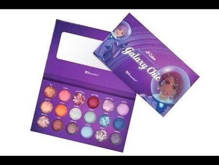 BH Galaxy Chic Baked Eyeshadow Palette Review & Swatches #jedyka #blogger - bellashoot.com