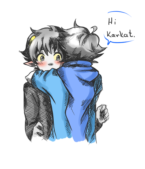 I just love Karkat's face. ^^ johnkat