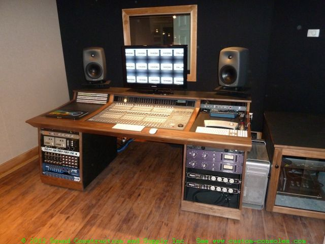 Recording studio furniture gallery custom mixing desks by for Console salon