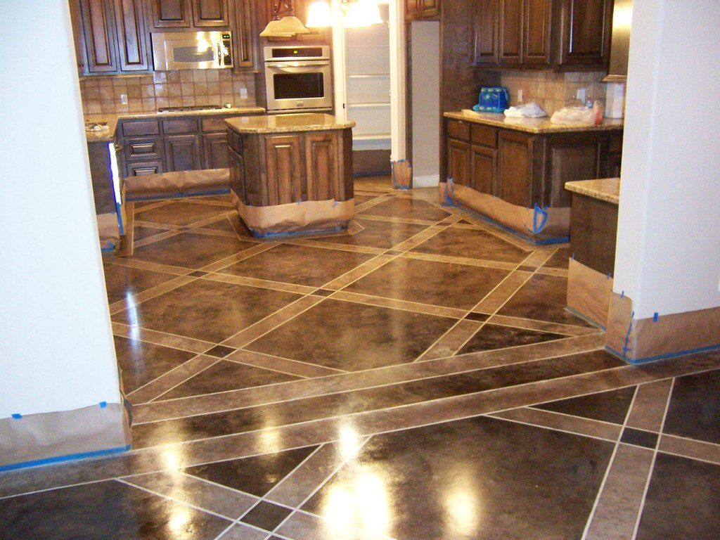 Pin By Devon Chase On House Ideas Flooring Stained