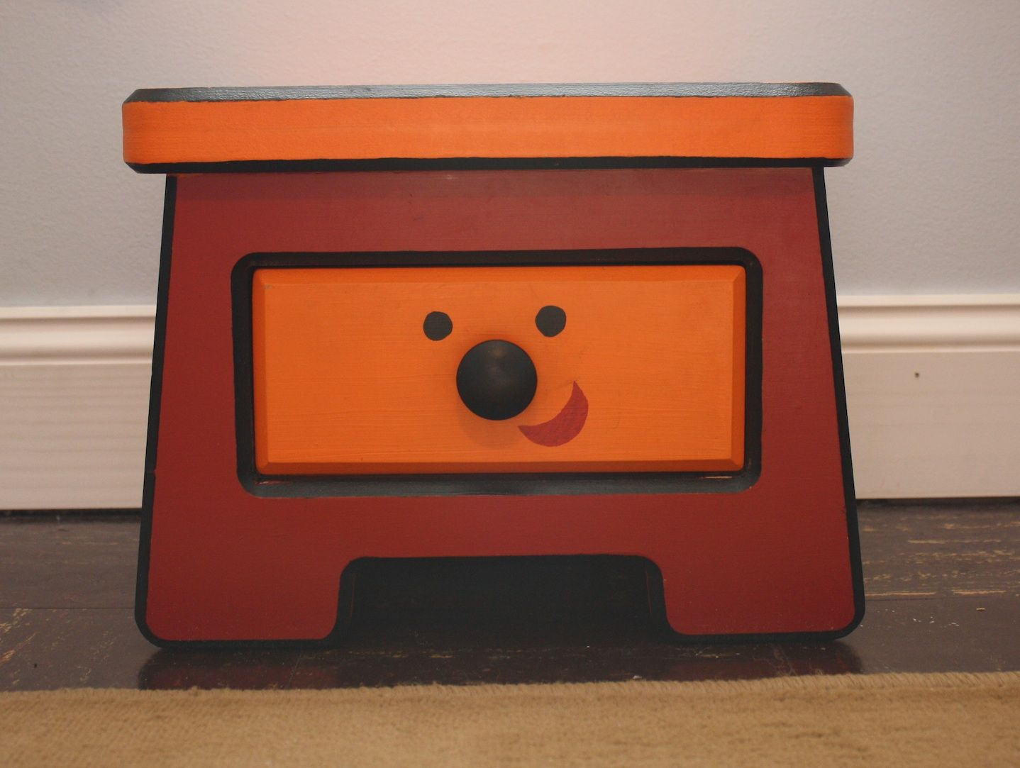 Blues clues thinking chair -  We Loved Side Table Drawer From Blue S Clues So Much We Made A Life Size Replica Of Her Of Mdf And Paint For A Children S Room Yeah But Does It Sing Like