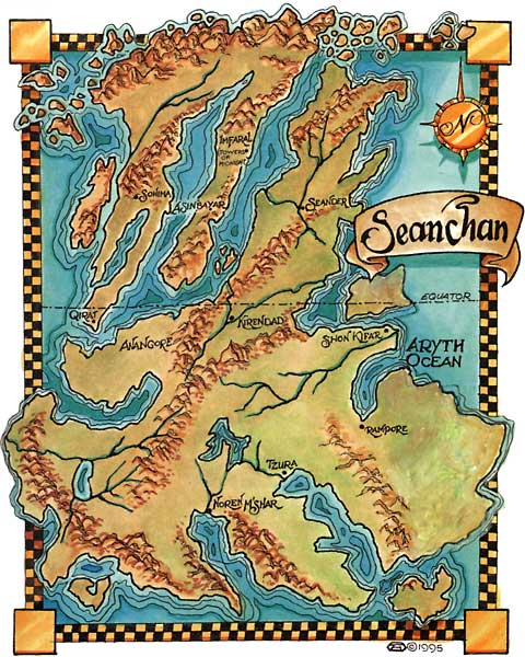 Robert Jordan Wheel of Time map - Alternate History Discussion Board ...