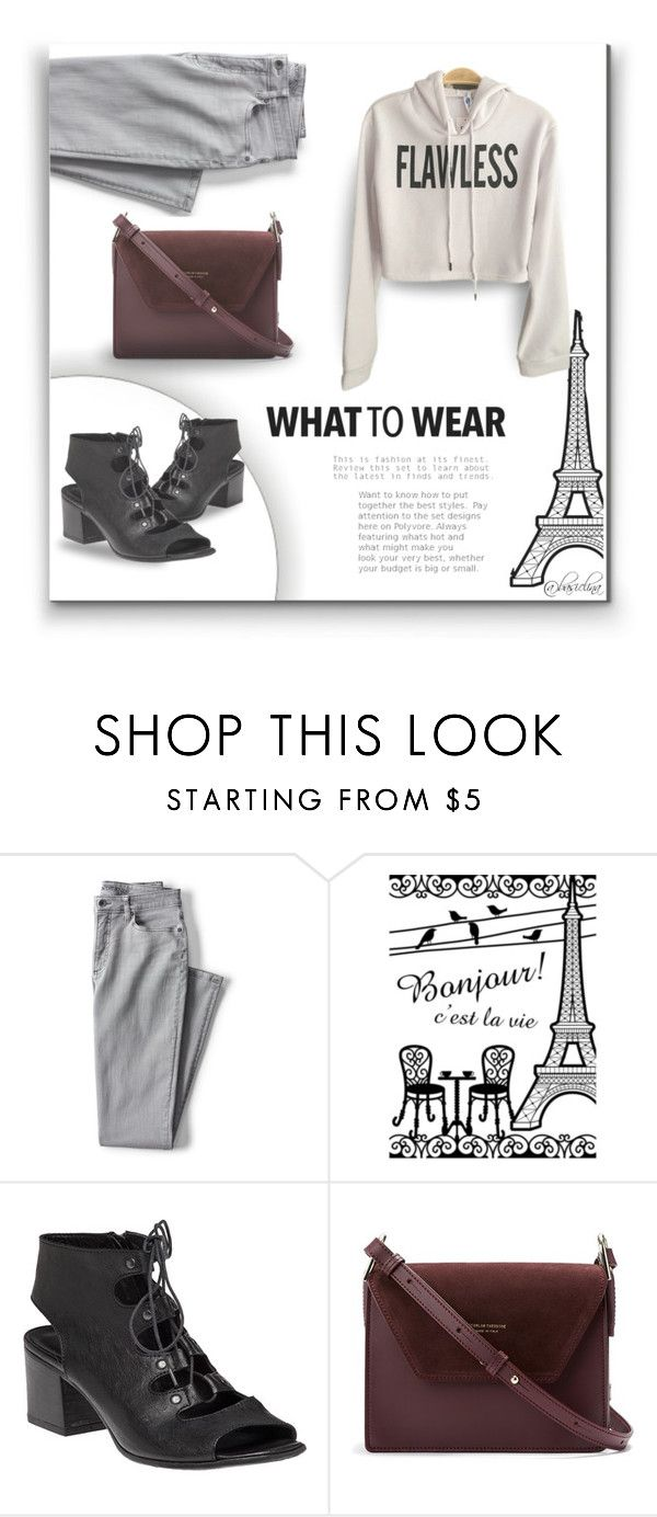 """""""Lazy to School"""" by basiclina ❤ liked on Polyvore featuring Lands' End, 275 Central and LazyDay"""