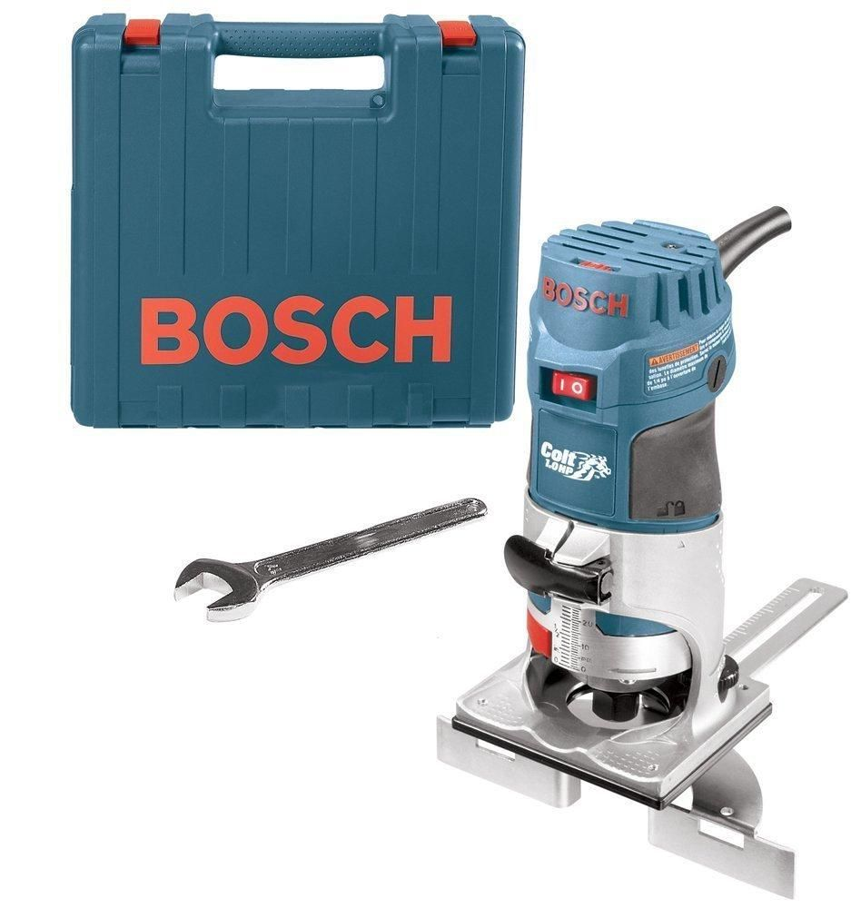 Bosch Pr20evsk Variable Speed Electronic Palm Router Kit 5 7 Amp Best Wood Router Wood Router Wood Router Reviews