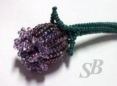 TUTORIAL Bud or Poppy Center - over 14mm bead