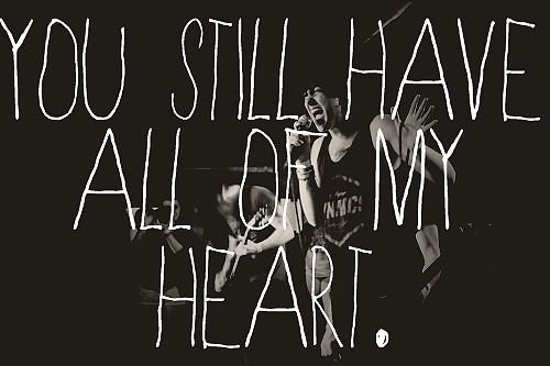 You still have all of my heart - sleeping with sirens