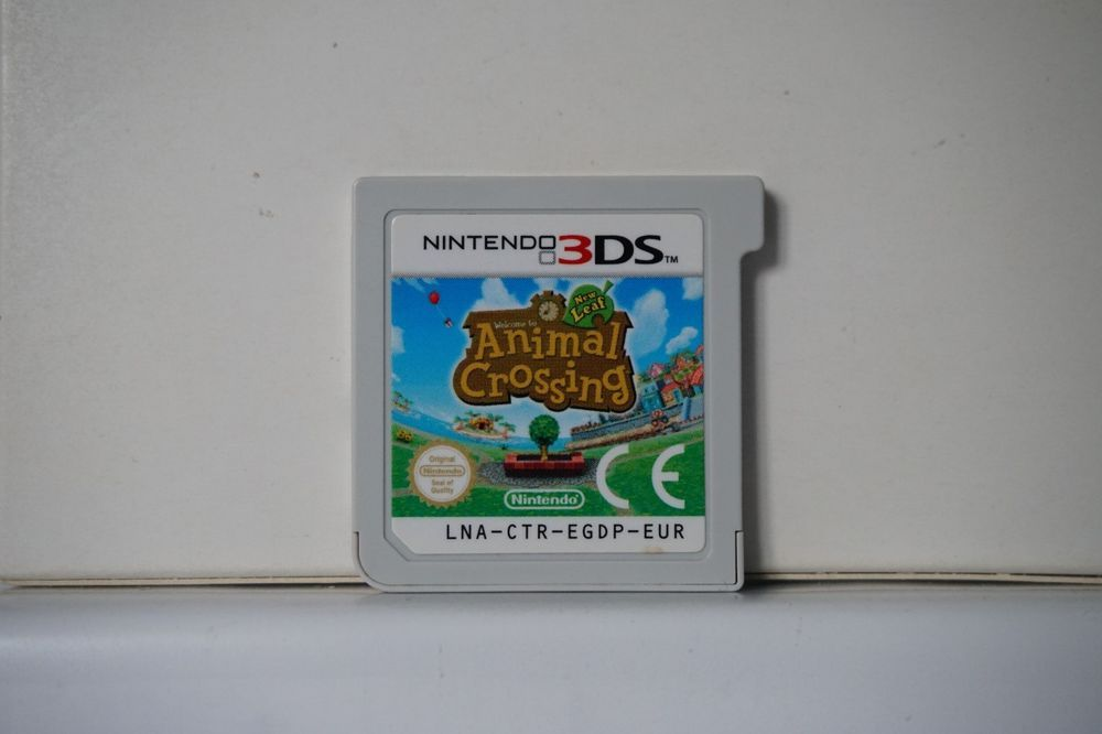 Welcome To Animal Crossing New Leaf Nintendo 3ds Ds Original